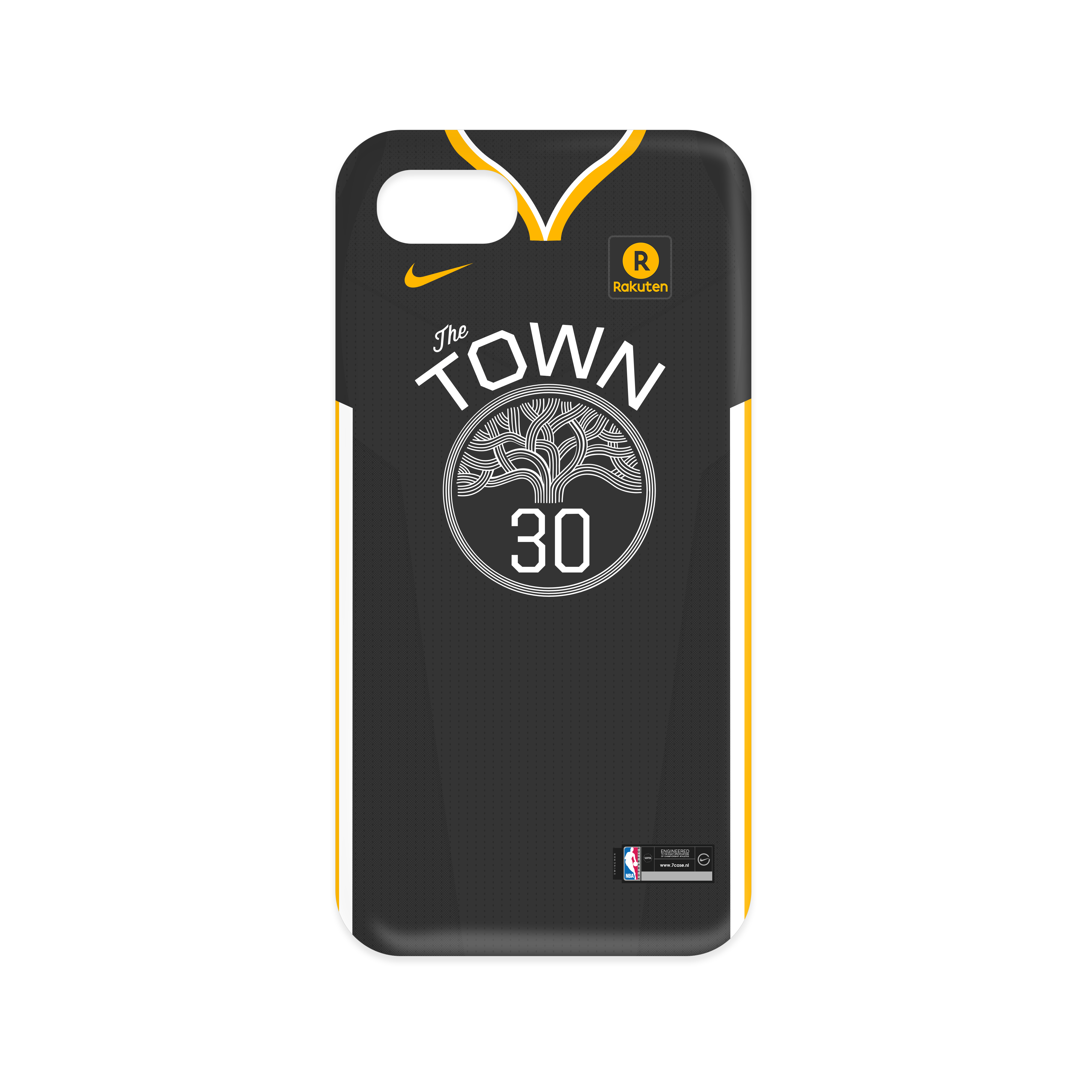 finest selection 8c7ab 7fe13 Warriors The Town Front - #30 - Iphone 7/8